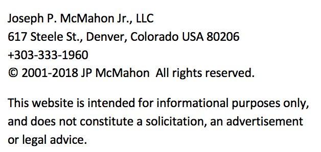 Joseph McMahon, Arbitration and Mediation